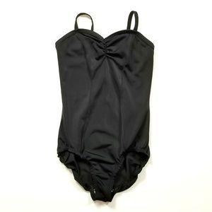 Curtain Call Costumes Girl's Black Leotard